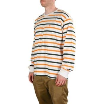 Magenta Stripes L/S T-Shirt - White Tricolour
