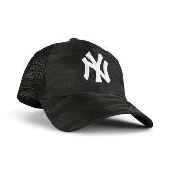 New Era New York Yankees Home Field 9Forty Trucker Cap - Black