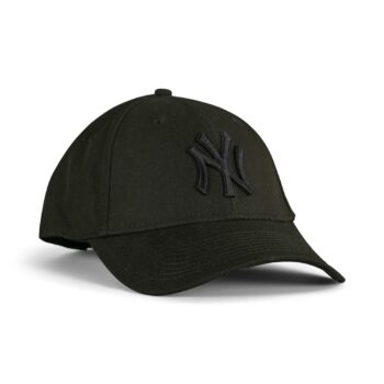 New Era New York Yankees Team Repreve 9FORTY Contrast Cap - All Black