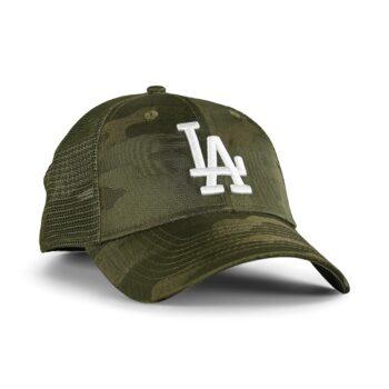 New Era LA Dodgers Home Field 9Forty Trucker Cap - Green