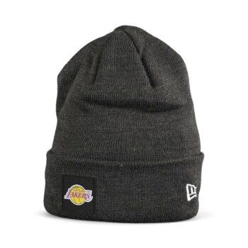 New Era LA Lakers Cuff Beanie - Graphite