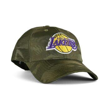 New Era LA Lakers Home Field 9Forty Trucker Cap - Green