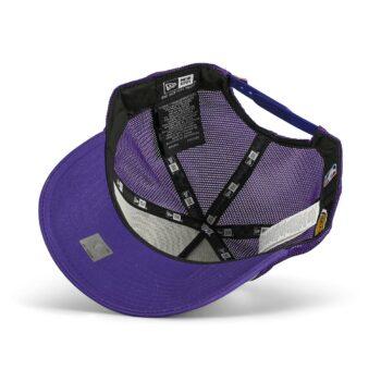 New Era LA Lakers Team Arch 9FORTY A-Frame Trucker Cap - Purple