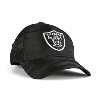 New Era Las Vegas Raiders Home Field 9Forty Trucker Cap - Black