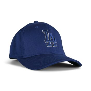 New Era Los Angeles Dodgers Outline 9Fifty Stretch Snapback Cap - Blue