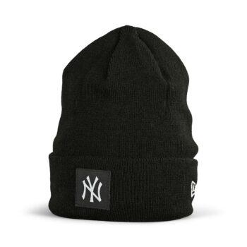 New Era NY Yankees Cuff Beanie - Black