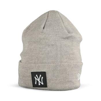 New Era NY Yankees Cuff Beanie - Grey