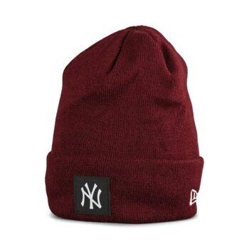 New Era NY Yankees Cuff Beanie - Maroon