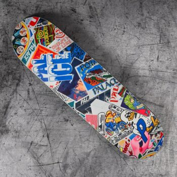 """Palace Sticker Pack 8.6"""" Slick Skateboard Deck"""