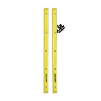 Santa Cruz Slimline Skateboard Rails (2 Pack) - Neon Yellow