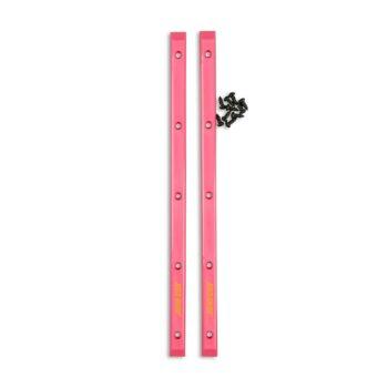 Santa Cruz Slimline Skateboard Rails (2 Pack) - Pink
