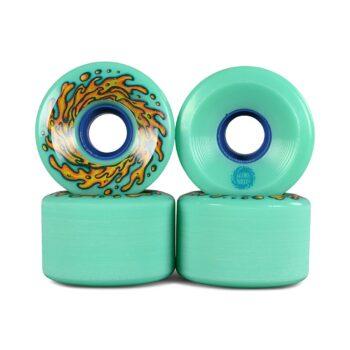 Slime Balls OG Slime 78a 60mm Skateboard Wheels - Green