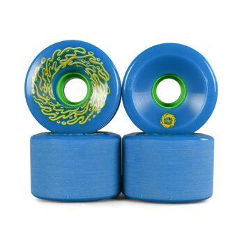 Slime Balls OG Slime 78a 66mm Skateboard Wheels - Blue/Green