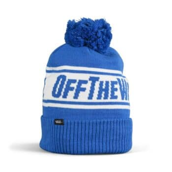 Vans Off The Wall Pom Beanie Hat - Nautical Blue