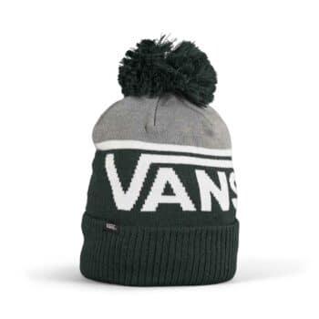 Vans Stripe Pom Beanie Hat - Scarab