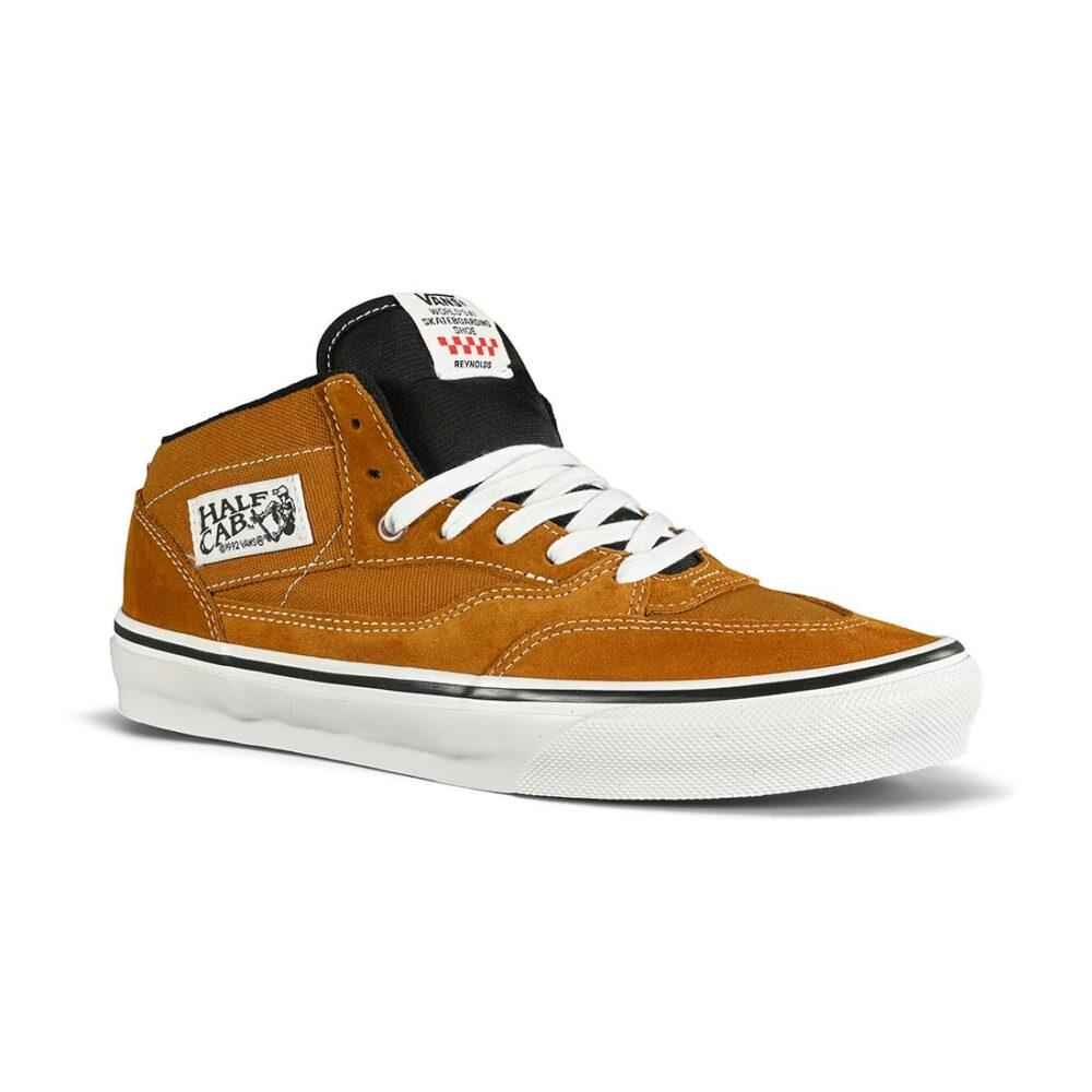 Vans Half Cab '92 Skate Shoes - Reynolds Golden Brown