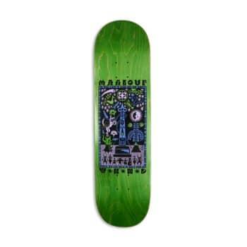 """WKND Maalouf Miracle 8.125"""" Skateboard Deck"""