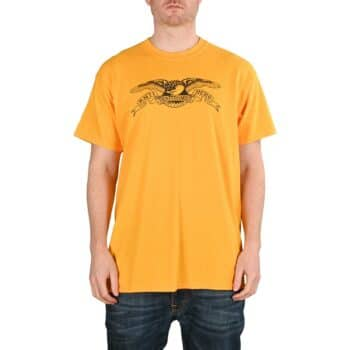 Anti Hero Basic Eagle S/S T-Shirt - Gold/Black