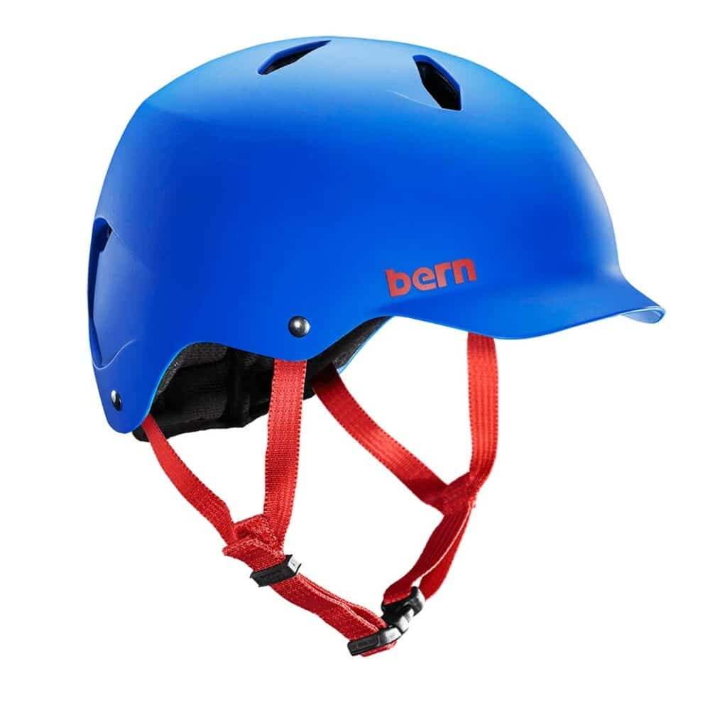 Bern Bandito EPS Youth Helmet - Matte Cobalt Blue