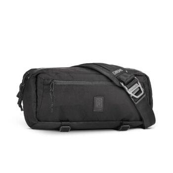 Chrome Mini Kadet 5L Messenger Bag - Black Chrome