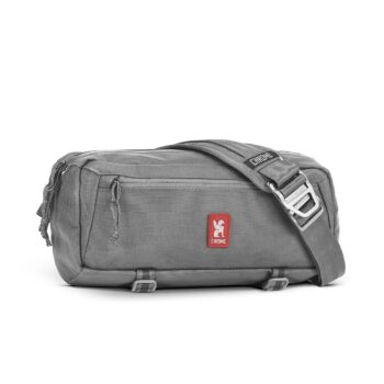 Chrome Mini Kadet 5L Messenger Bag - Smoke Grey