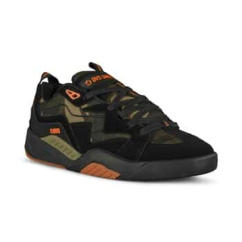 DVS Devious Skate Shoes - Black/Camo/Orange