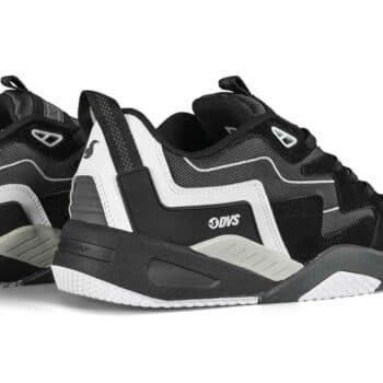 DVS Devious Skate Shoes - Black/Charcoal/White
