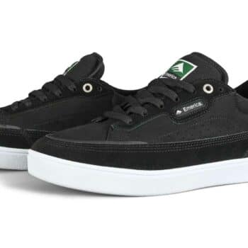 Emerica Gamma Skate Shoes - Black/White/Gum