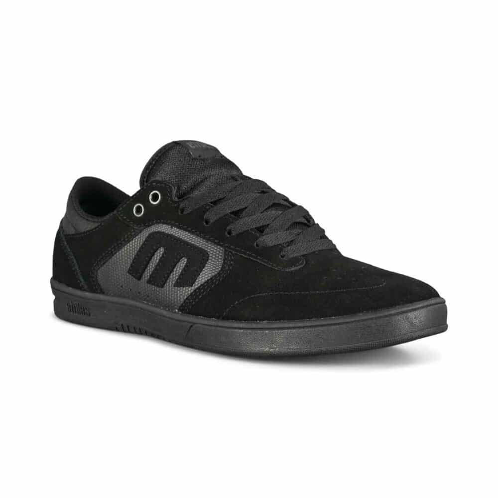 Etnies Berger Windrow Skate Shoes - Black/Black/Gum