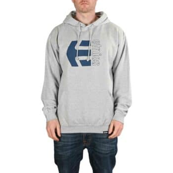Etnies Corp Combo Pullover Hoodie - Grey/Heather
