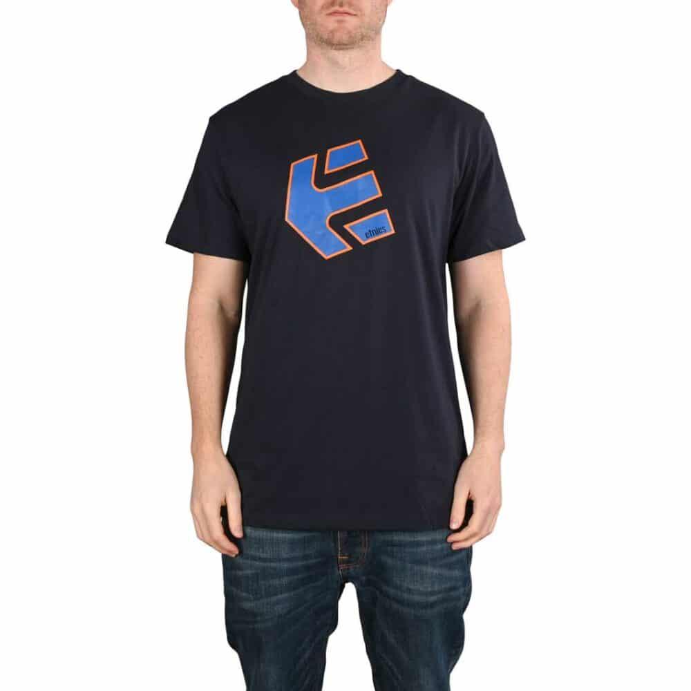 Etnies Crank S/S T-Shirt - Navy/Blue