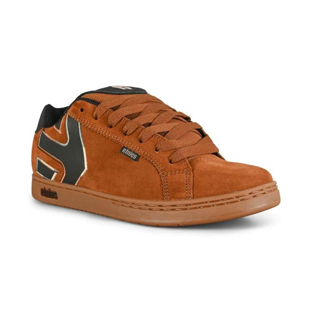 Etnies Fader Skate Shoes - Brown/Navy/Gum