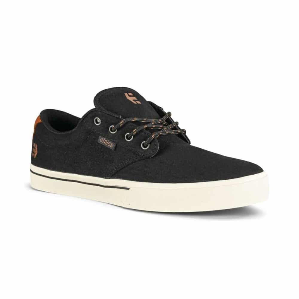 Etnies Jameson 2 Eco Skate Shoes - Black/Black/White