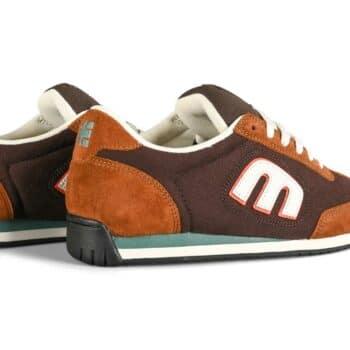 Etnies Lo-Cut II LS Skate Shoes - Brown/White/Brown