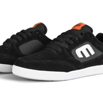Etnies McClung Veer Skate Shoes - Black/White/Orange