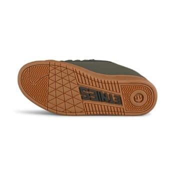 Etnies Metal Mulisha Kingpin 2 Skate Shoes - Dark Grey/Black/Gum