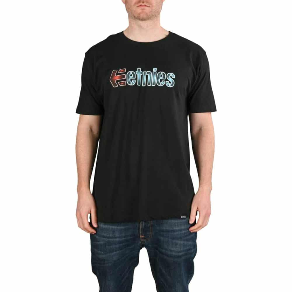 Etnies Neon S/S T-Shirt - Black