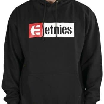 Etnies New Box Pullover Hoodie (AW21) - Black