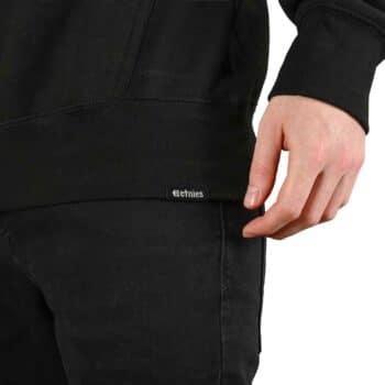 Etnies New Box Pullover Hoodie - Black/Yellow/White