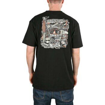 Independent Crust S/S T-Shirt - Black