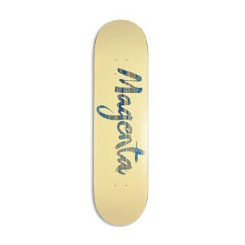 Magenta Brush Team Wood Skateboard Deck