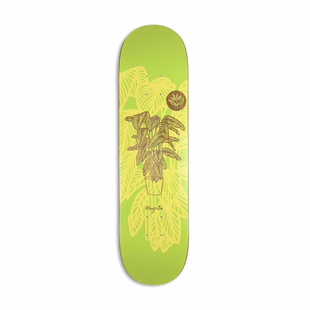 Magenta Power Plant Skateboard Deck
