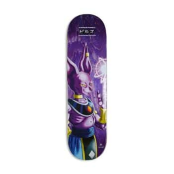 "Primitive x DBS2 Desarmo Destroyer 8.375"" Skateboard Deck - Purple"