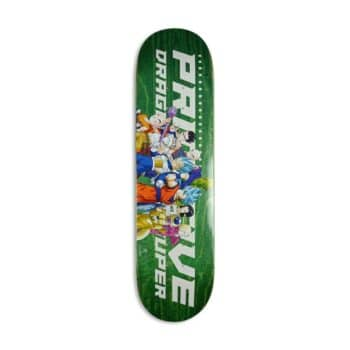 Primitive x DBS2 Universal Survival Team Skateboard Deck - Green