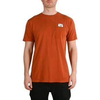 RIPNDIP Lord Nermal S/S Pocket T-Shirt - Cotta Orange