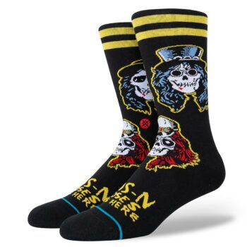 Stance Appetite Crew Socks - Black