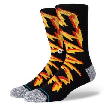 Stance Electrified Crew Socks - Black
