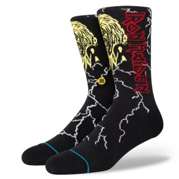 Stance Night City Crew Socks - Black