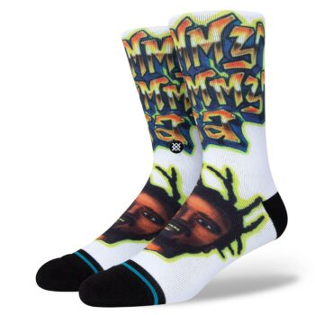 Stance Shimmy Shimmy Ya Crew Socks - White