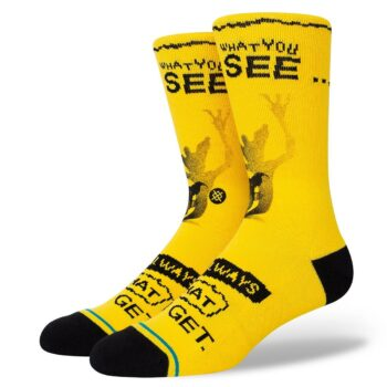 Stance What You Get Crew Socks - Black